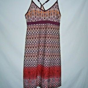 ATHLETA Women Dress Athletic Floral Size M